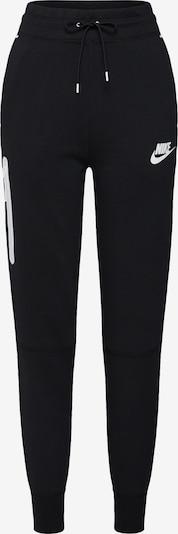Nike Sportswear Broek in de kleur Zwart / Wit, Productweergave