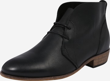 HUB Lace-Up Ankle Boots 'Chuckie' in Black