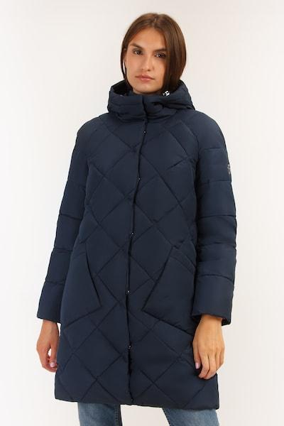 Finn Flare Wintermantel in kobaltblau, Modelansicht