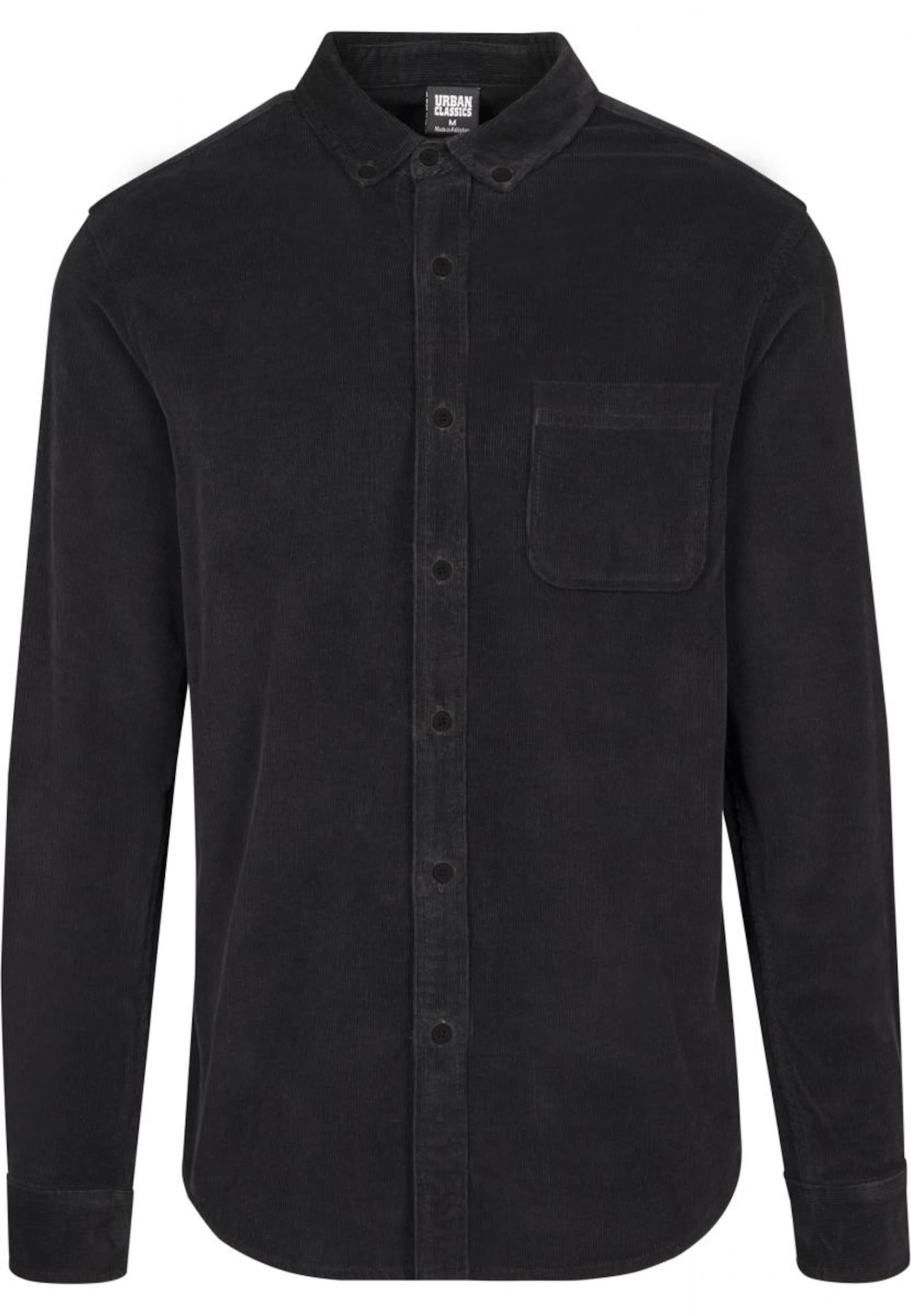 Urban Classics Shirt Schwarz In Urban Classics Shirt nXkwO80P