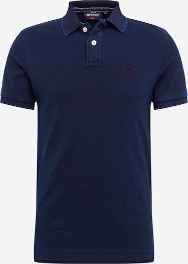Superdry Poloshirt 'CLASSIC PIQUE S/S POLO' in dunkelblau, Produktansicht