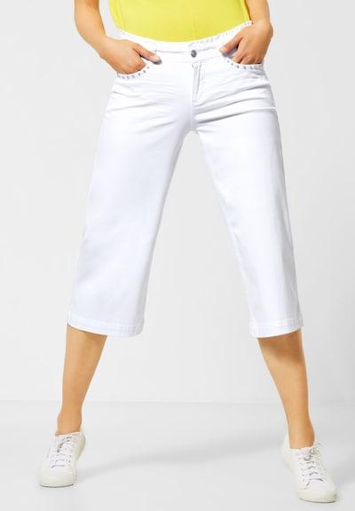 STREET ONE Jeans in de kleur Wit, Modelweergave
