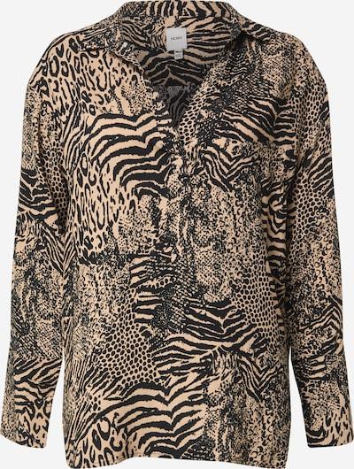 ICHI Bluse 'VERA' in beige / schwarz, Produktansicht