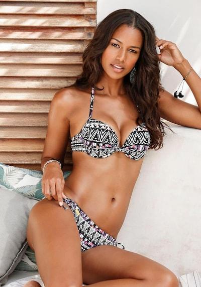 LASCANA Bikinitop in de kleur Gemengde kleuren, Modelweergave