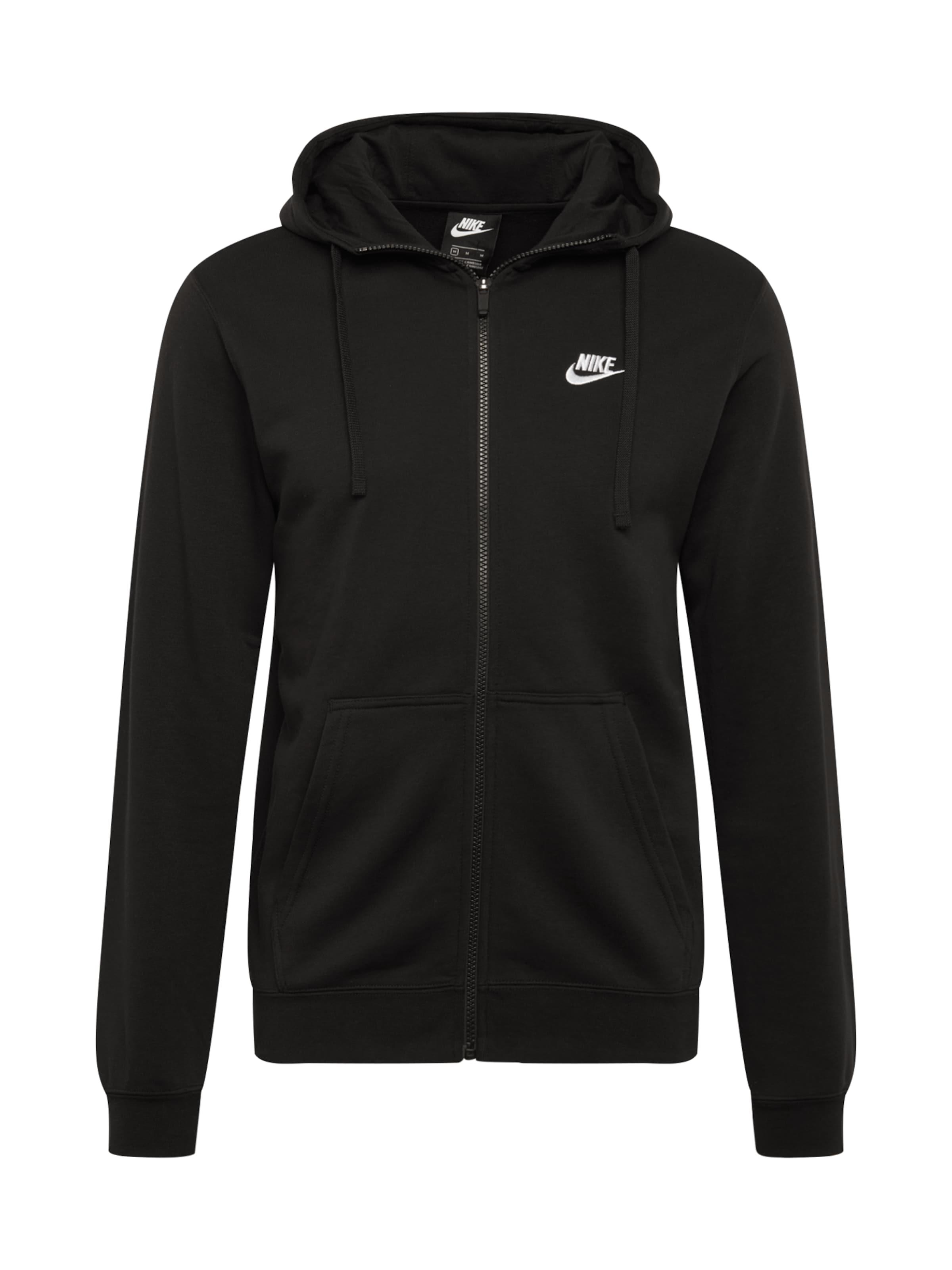 Nike Sportswear Veste Noir De En Survêtement 'av15' mwN08n