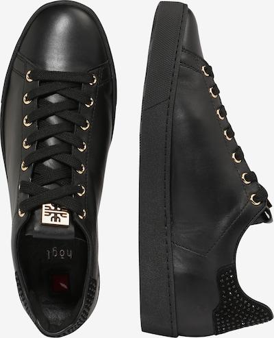 Högl Sneaker in schwarz: Seitenansicht