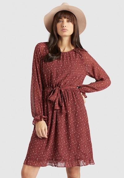 khujo Kleid ' MEDUSA ' in rot, Modelansicht