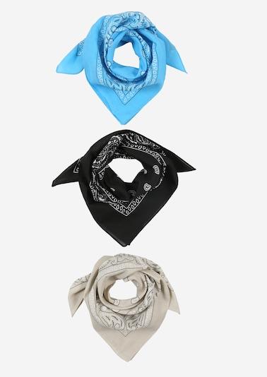 ABOUT YOU Bandanas 'Lene' in beige / hellblau / schwarz, Produktansicht