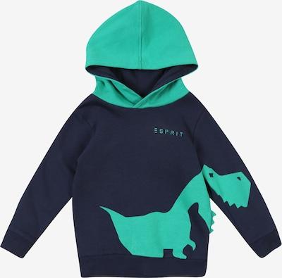 ESPRIT Sweatshirt in navy / grün, Produktansicht