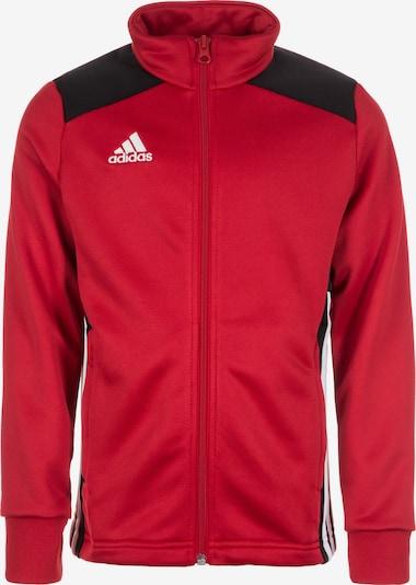 ADIDAS PERFORMANCE Trainingssweatjacke 'Regista 18' in rot / schwarz / weiß, Produktansicht