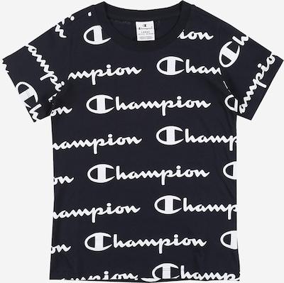 Champion Authentic Athletic Apparel T-Shirt en bleu marine: Vue de face