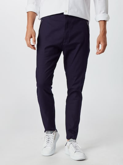 Pantaloni 'Faloo203' HUGO pe navy, Vizualizare model