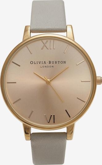 Olivia Burton Damenuhr in gold / grau, Produktansicht