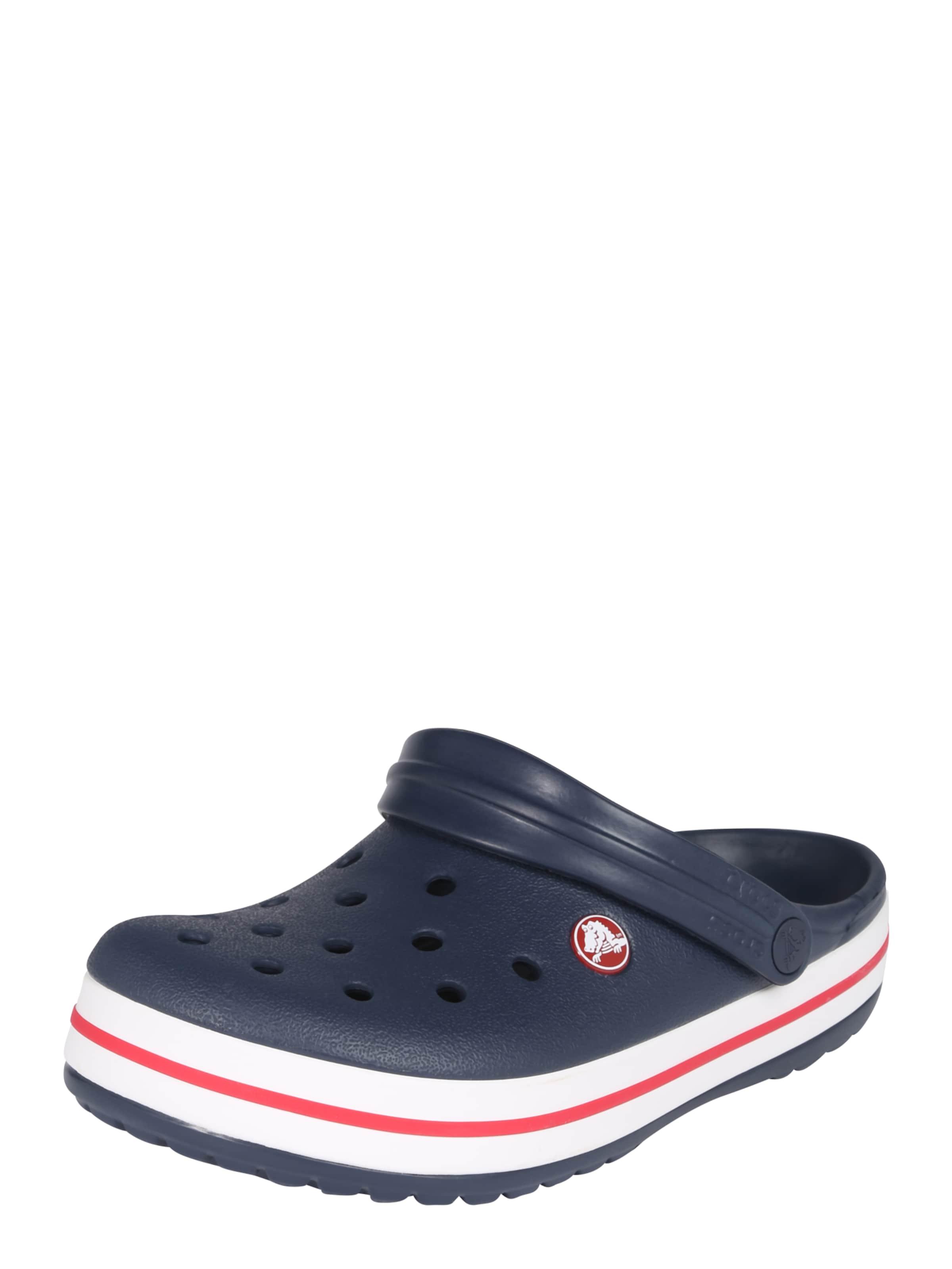 'crocband' Crocs Crocs Navy Pantolette Pantolette In 'crocband' mN0w8n