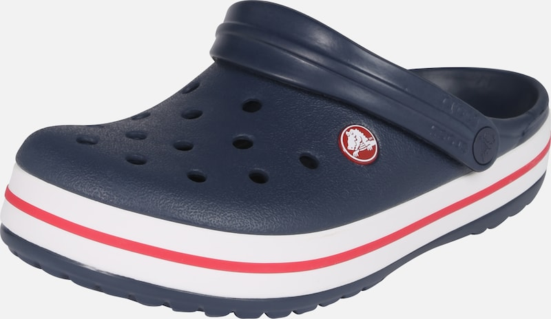 Crocs Slip on 'Crocband' en bleu marine: Vue de face