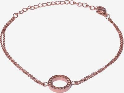 Style Republic Armband 'Kreis 4337' in rosegold / naturweiß, Produktansicht