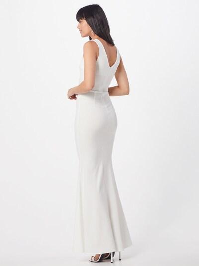 WAL G. Robe de soirée 'WG 8503' en blanc: Vue de dos