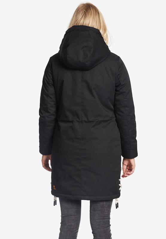 Khujo Mantel Mantel Mantel ' YUKIE ' in schwarz  Mode neue Kleidung 92a360