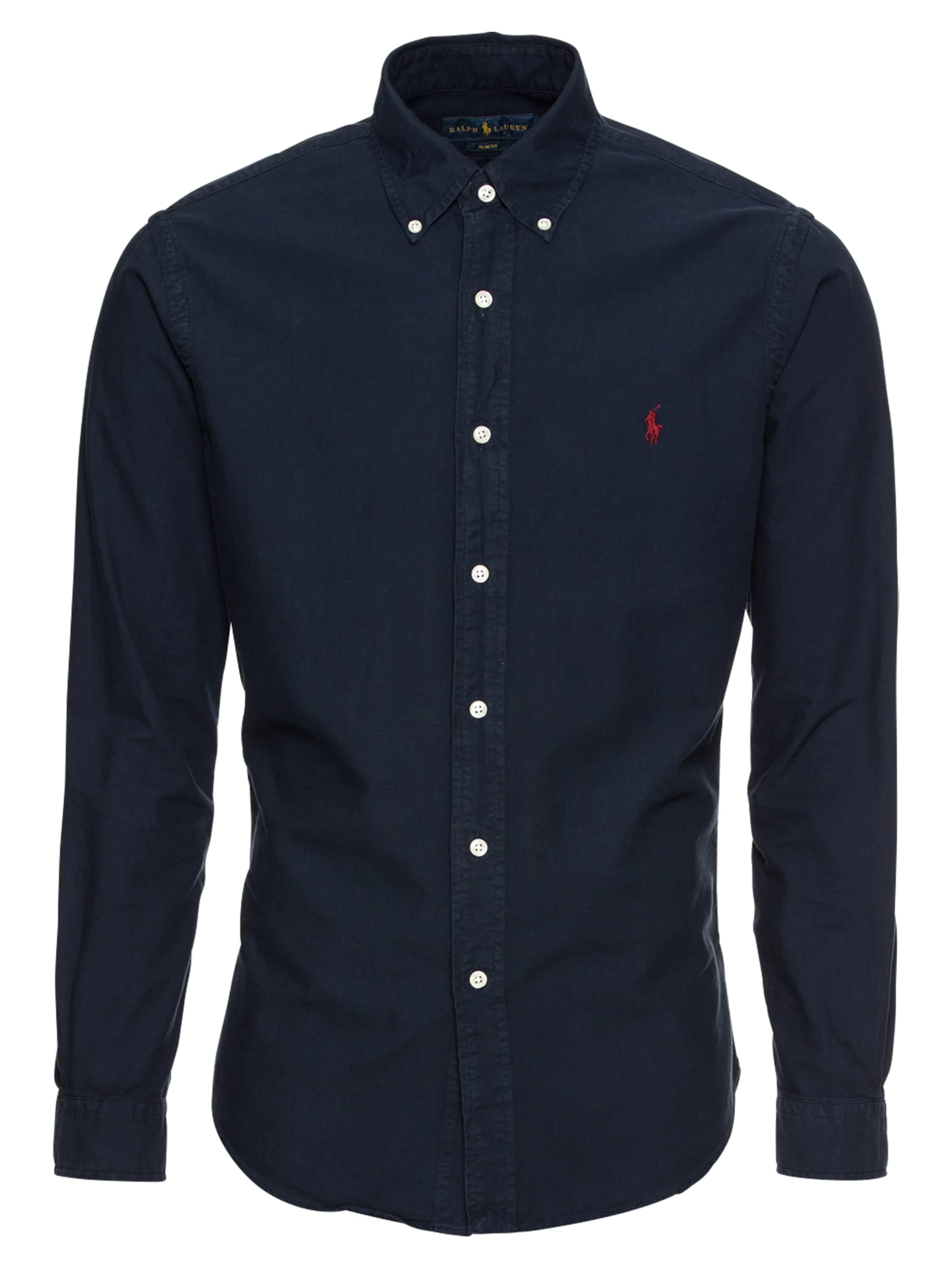 Bd En Polo sport Sleeve Chemise long Ralph Bleu Ppc Sp Shirt' 'sl Marine Lauren f7g6by