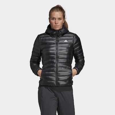 ADIDAS PERFORMANCE Athletic Jacket 'Varilite' in Black: Frontal view