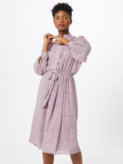 SELECTED FEMME Kleid in lila / mischfarben, Modelansicht
