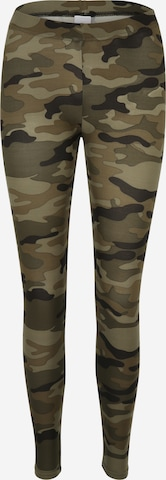 Urban Classics Camouflage-Leggings in Grün