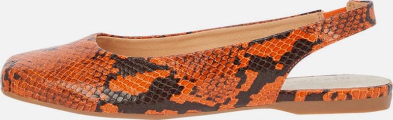 Vielzahl von StilenBianco Quadratische Leder Slingpumpsauf den Verkauf
