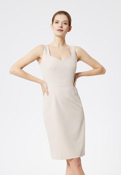 DREIMASTER Kleid in beige, Modelansicht