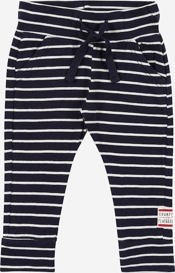 Noppies Hose in dunkelblau / weiß, Produktansicht