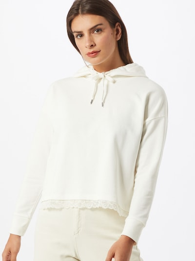 ABOUT YOU Sweatshirt 'Charleen' in offwhite: Frontalansicht