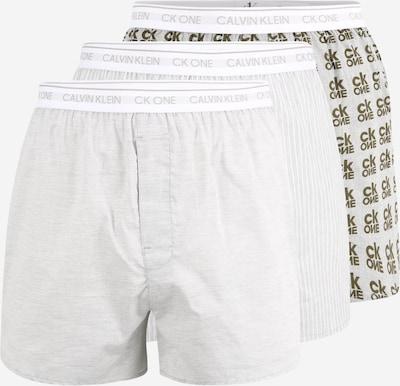 Calvin Klein Underwear Boxershorts in graphit / hellgrau / weiß, Produktansicht