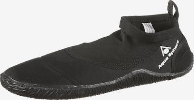 Aqua Lung Sport Wasserschuhe 'Beachwalker' in schwarz / weiß, Produktansicht