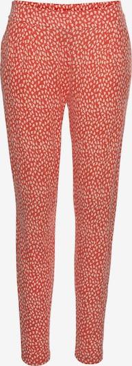Hareminės kelnės iš s.Oliver , spalva - oranžinė / natūrali balta, Prekių apžvalga