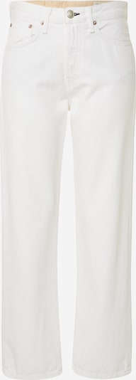 rag & bone Jeans 'Maya High-Rise Ankle' in de kleur Wit, Productweergave