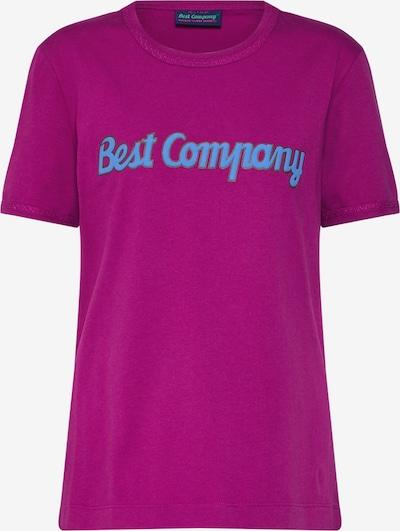 Best Company Shirt in dunkellila, Produktansicht