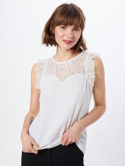 VERO MODA Top in weiß, Modelansicht