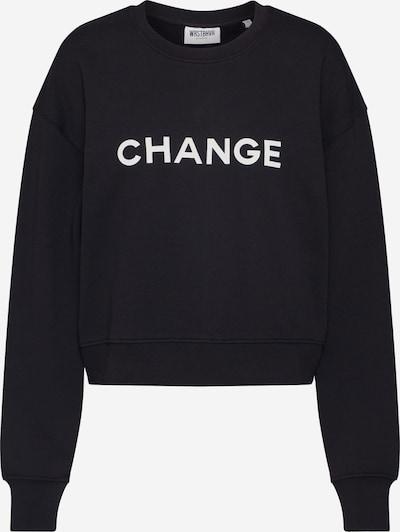 Worst Behavior Mikina 'Change' - čierna / biela, Produkt