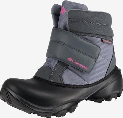 COLUMBIA Winterstiefel in grau / pink / schwarz, Produktansicht