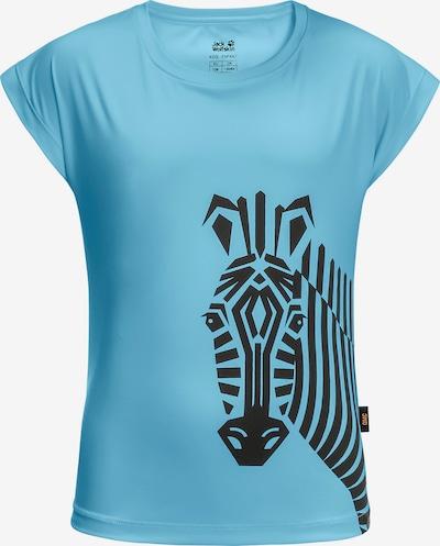 JACK WOLFSKIN T-Shirt ZEBRA in türkis, Produktansicht