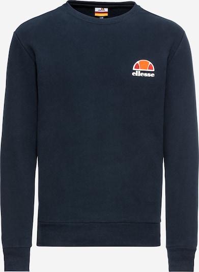 ELLESSE Sportisks džemperis 'Diveria' tumši zils / oranžs / sarkans / balts, Preces skats