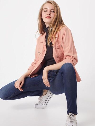 LEVI'S Jeans '711' in de kleur Blauw denim: Vooraanzicht