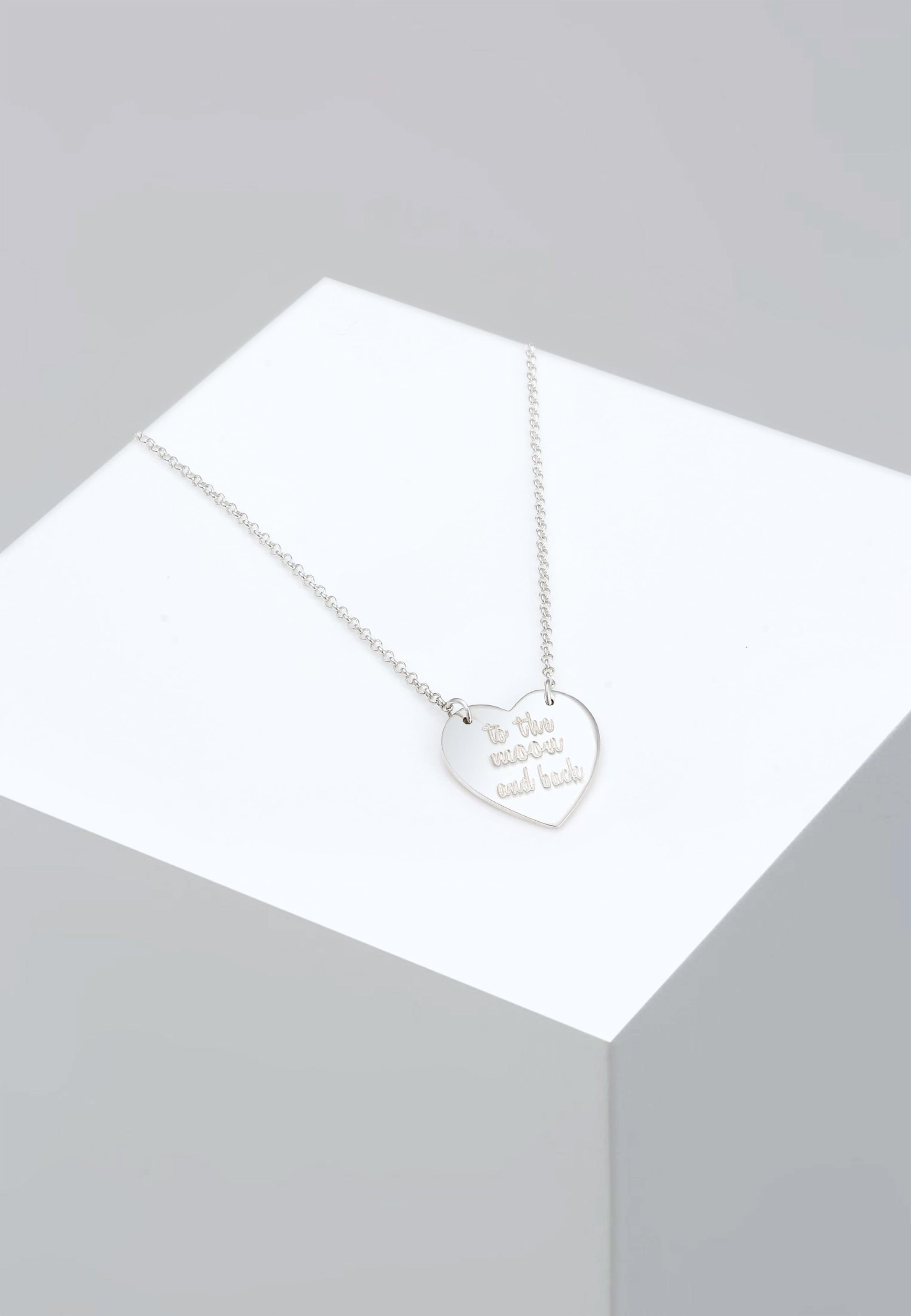 Halskette Halskette Silber Elli In 'herz' Elli 'herz' v6b7YIfgym