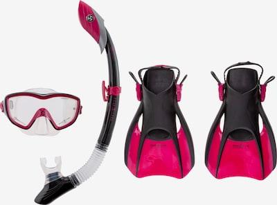 Aqua Lung Sport Schnorchelset in dunkelpink / schwarz, Produktansicht