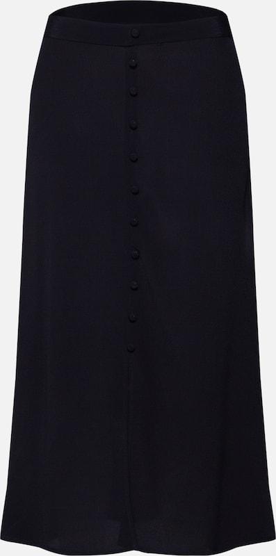 Midi Skirt Noir 'pcrandi Jupe D2d' Pieces Hw En xtsrCBoQdh