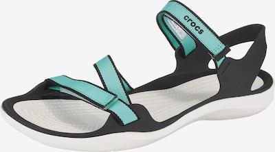Crocs Sandale 'Swiftwater Webbing W' in türkis, Produktansicht
