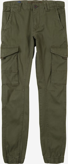Jack & Jones Junior Cargohose 'PAUL FLAKE AKM' in oliv, Produktansicht