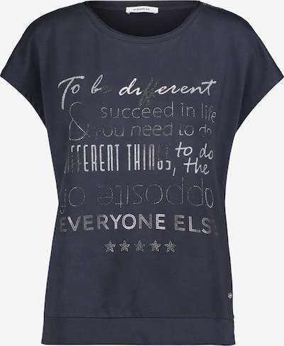 Public Sweatshirt mit Placement in blau, Produktansicht
