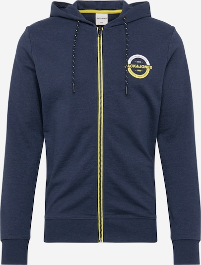JACK & JONES Sweatjacke 'COSTRONG' in dunkelblau, Produktansicht