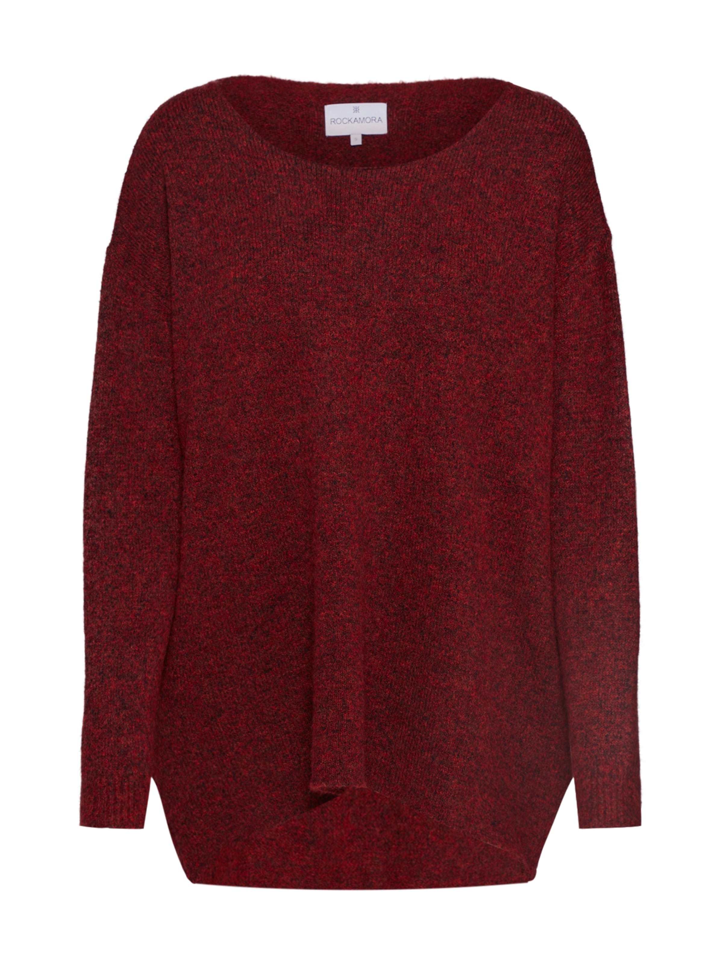Oversized Rot Rockamora In Pullover 'mille' rWCodBEQxe