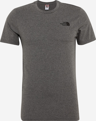 THE NORTH FACE T-Shirt 'Simple Dom' in grau / schwarz, Produktansicht